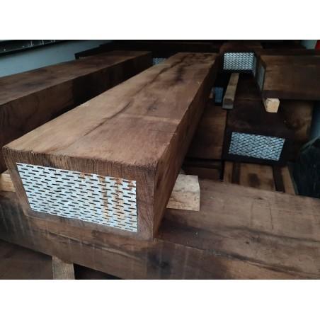 Impregnace dubových pražců přípravkem Bochemit