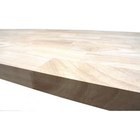 Škárovka Hevea – 30 x 950 x 2250 mm, kvalita AB, cinkovaná