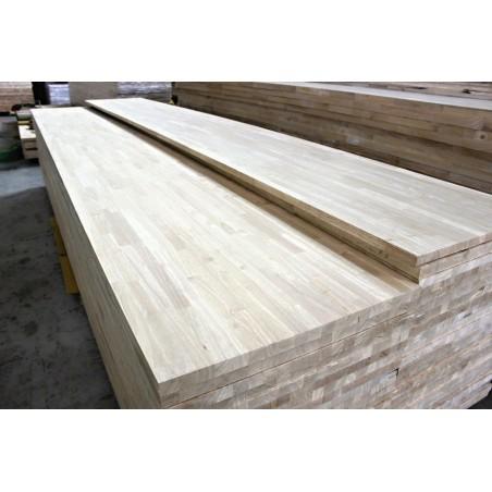Škárovka Hevea – 30 x 950 x 4500 mm, kvalita AB, cinkovaná